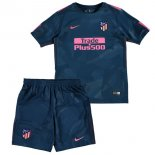 Ensemble Maillot foot Third Enfant Atletico Madrid 2017 2018
