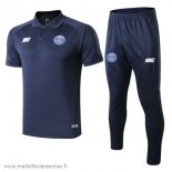 Ensemble Polo Paris Saint Germain 2019 2020 Bleu