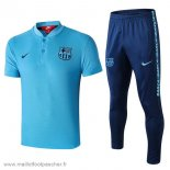 Nike Ensemble Polo Barcelone 2019 2020 Bleu