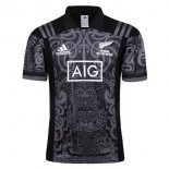Maori Maillot Rugby All Black 2017 Noir