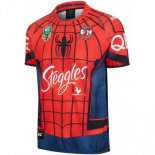 Spider Man Marvel Maillot Rugby Sydney Roosters 2017
