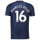 NO.16 Marcos Rouge Third Manchester United Maillot Football Pas Cher 2018-2019