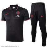 Ensemble Polo Paris Saint Germain 2019 2020 Rouge