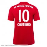 NO.10 Coutinho Domicile Maillot Football Bayern Munich 2019 2020