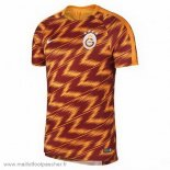 Pre Match Maillot Football Galatasaray SK 2018 2019 Orange
