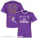 Thailande Maillot foot Exterieur Real Madrid 12 Final Cardiff 2017