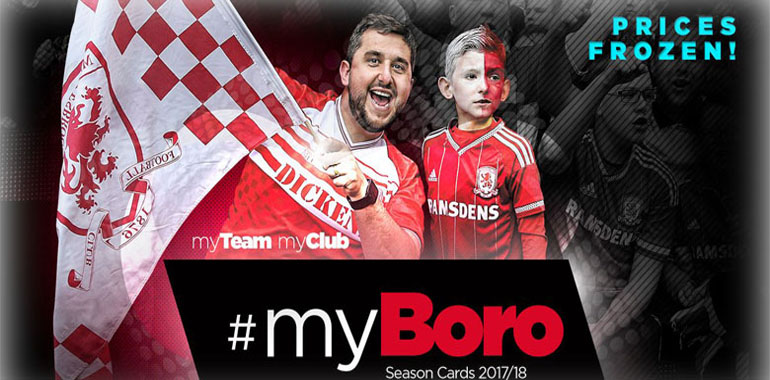 maillot middlesbrough 2017
